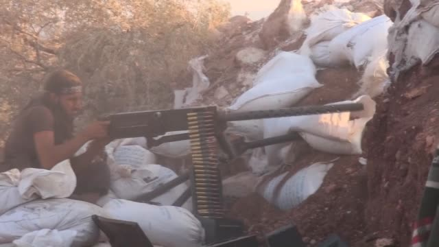 Syrian opponents linked to alFatah forces attack Syrian regime forces in Fua village of Idlib and scores of regime soldiers and Hezbollah militants...