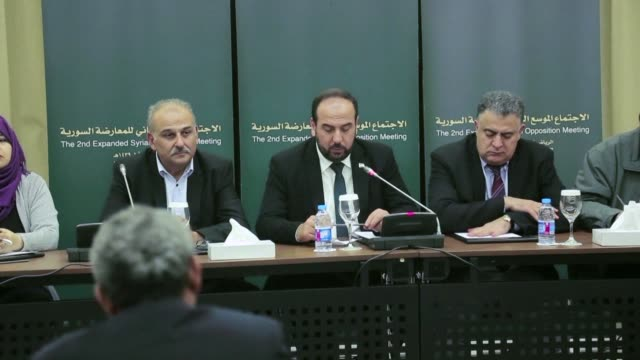 Syria's disparate opposition groups announce an agreement to send a united delegation to the UN brokered peace talks in Geneva as international...