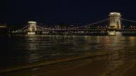 Széchenyi Chain Bridge at night