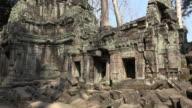 TU / Ta Prohm temple with Apsara relief