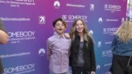 Tabitha Chadwick Steezy Aaron at the Los Angeles Premiere Of Be Somebody at ArcLight Theatre in Hollywood in Celebrity Sightings in Los Angeles