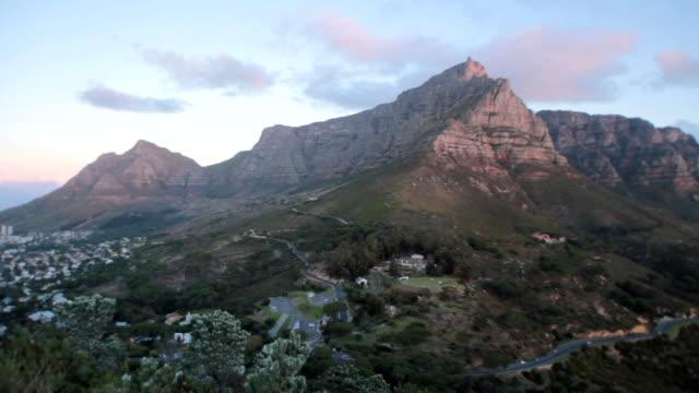 Table Mountain sunset timelapse