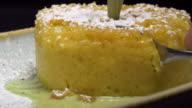 Table top corn cake