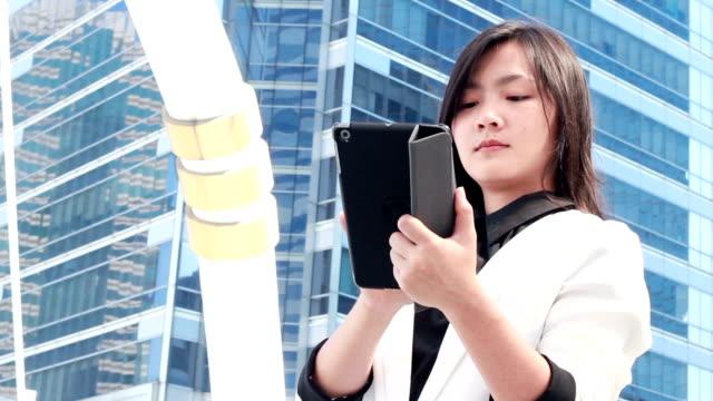 Tablet for business,Bangkok city