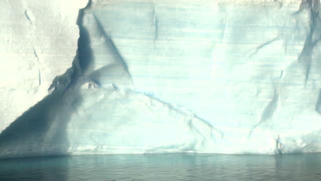 Tabular iceberg, nice water relections. Antarctic Sound