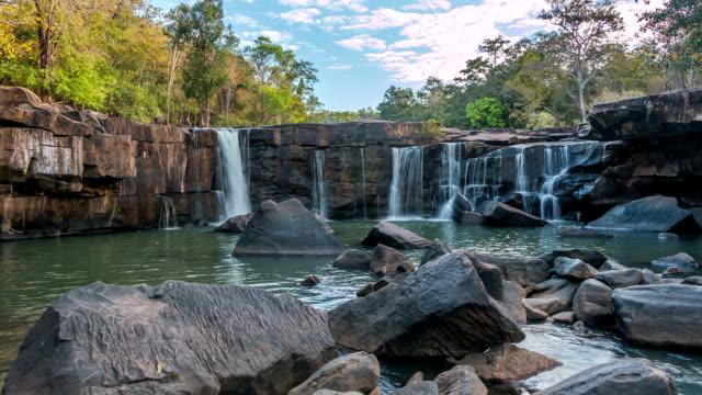 Tad Ton Waterfall in Thailand