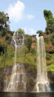 Tad Yuang Waterfall (Vertical), Southen Laos.