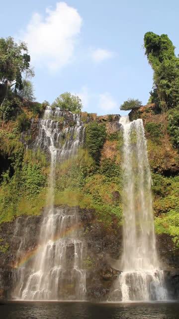 Tad Yuang Waterfall (Vertical), Southen Laos.