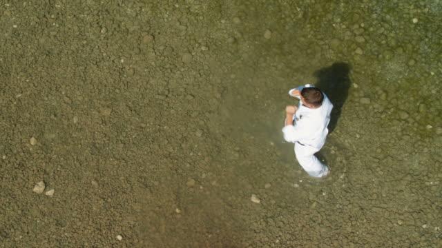 HD CRANE: Tai Chi In Water