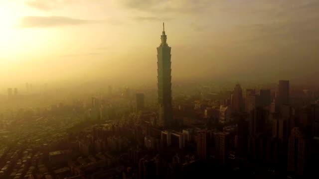 Taipei 101 by Drone
