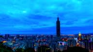 Taipei City Of Sunrise timelapse