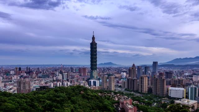 Taipei night to day