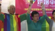 Taiwans top court ruled in favour of gay marriage Wednesday a landmark decision that paves the way for the island to become the first place in Asia...