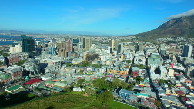 Taking in the city of Cape Town