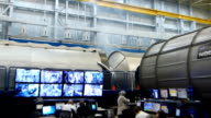Takuya Onishi and other astronauts selected for a June mission to the International Space Station kept level during an emergency drill held at NASA's...