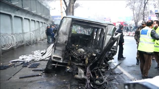 A Taliban suicide attack targeting a Turkish diplomatic vehicle belonging to the NATO mission kills two people in Kabul highlighting the fragile...