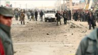 A Taliban suicide bomb hits a European Union police vehicle in Kabul killing at least one passer by but not wounding any passengers officials say...