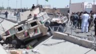 A Taliban suicide bomber kills five people and wounds dozens of others mainly children after detonating a car filled with explosives at a police...