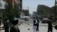 A Taliban suicide bomber targets NATO forces in Kabul wounding three people officials say as the group steps up attacks as part of its annual summer...
