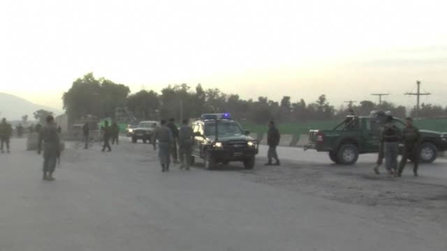 A Taliban suicide car bomber targeting NATO troops at an airport in eastern Afghanistan killed nine people Monday the seventh day of violence over...