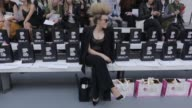 Tallia Storm at JeanPierre Braganza SS16 at Brewer Street Car Park on September 18 2015 in London England