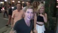 Talon Reid talks about the movie Zoolander being really true in modeling world as he leaves AV Nightclub in Hollywood 08/09/13 Talon Reid talks about...