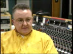 Tam Cowan interview SOT It's really easy to hate the English/ it's more like friendly rivalry Cutaways CMS Dials on radio control panel TILT UP BV...