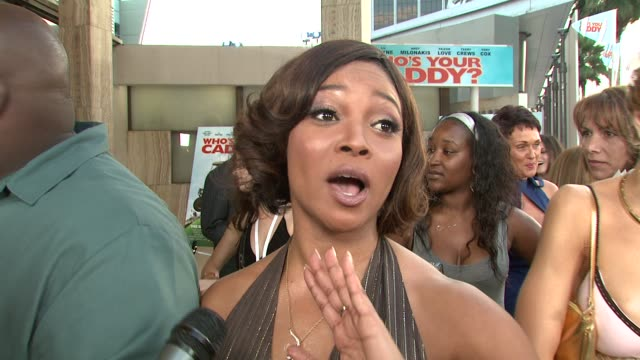 Tamala Jones on her character the film and cast being funny working in South Carolina not knowing any golf seeing Faizon shoot his nude scene and is...