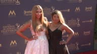 Tamar Braxton and Toni Braxton at the 44th Annual Daytime Emmy Awards at Pasadena Civic Auditorium on April 30 2017 in Pasadena California