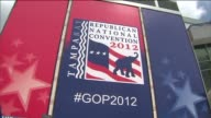 Tampa Bay Times Forum Hosts Republican National Convention on August 26 2012 in Tampa Florida