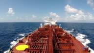 Tanker in ocean