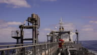 Tanker open deck