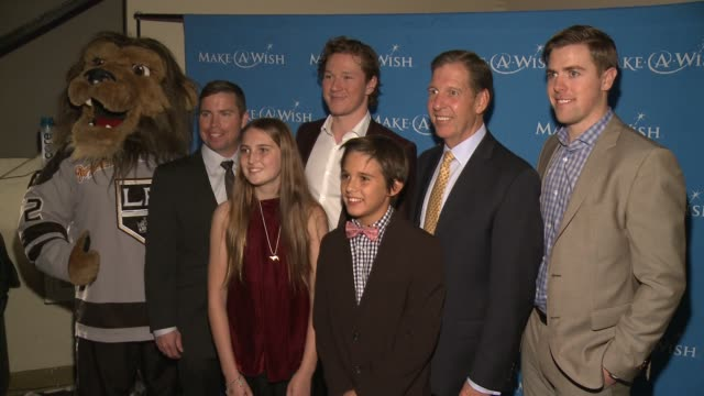 Tanner Pearson Kelly Cheeseman Tyler Toffoti LA Kings at 4th Annual Wishing Well Winter Gala Presented by MakeAWish Greater Los Angeles in Los...