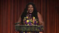 SPEECH Tanya Fields accepts her award at Food Bank For New York City CanDo Awards Dinner 2017at Cipriani Wall Street on April 19 2017 in New York City