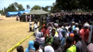 Tanzanians Sunday began three days of national mourning for nearly 200 people who died when a ferry capsized off the Zanzibar coast as the government...