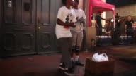 Tap dancers perform in the French Quarter on May 10 2015 in New Orleans Louisiana The tenth anniversary of Hurricane Katrina which killed at least...