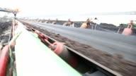 tape transport of coal