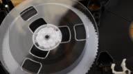 Tape wheel rotation