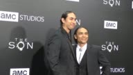 Tatanka Means Zahn McClarnon at the Premiere Of AMC's 'The Son' on April 03 2017 in Hollywood California