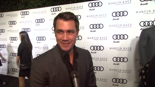 Tate Taylor on the event at the Audi And Martin Katz Celebrate The 2012 Golden Globe Awards in West Hollywood CA