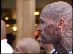 tatoo man at the 'Wasabi Tuna' Premiere at the Cinerama Dome at ArcLight Cinemas in Hollywood California on August 20 2003