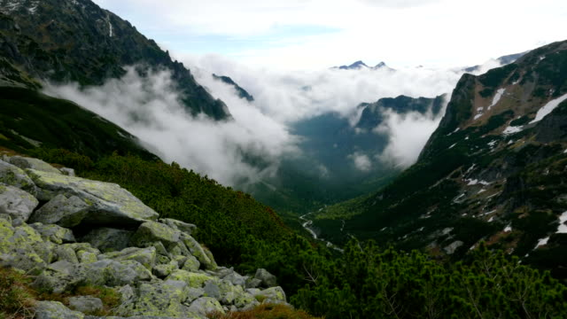 Tatra Mountain clouds
