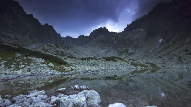 Tatra mountain lake