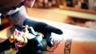 Tattoo workshop.