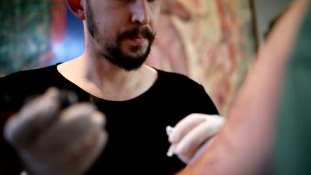 Tätowieren ist wie Kunst
