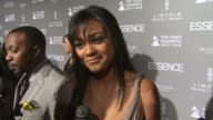 Tatyana Ali on Mary J Blige on her new album and on why Essence Magazine is so important at the ESSENCE Black Women In Music Honoring Mary J Blige at...
