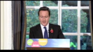 David Cameron press conference Cameron press conference SOT Today we're announcing another proposal that meets all these criteria One of the biggest...