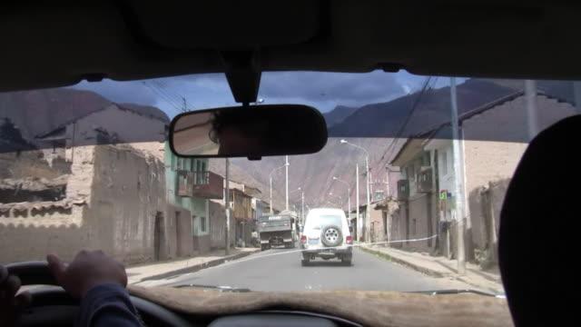 Taxi Cab Ride through the Sacred Valley, Pisac, Peru