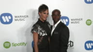 Taye Diggs at Warner Music Group Hosts Annual Grammy Celebration in Los Angeles CA