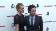 Taylor Bagley Zach Braff at The Iceman Los Angeles Premiere 4/22/2013 in Hollywood CA